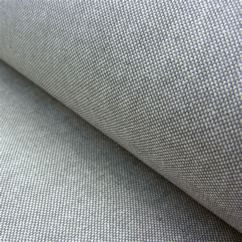 cotton upholstery extra wide plain cotton mix grey