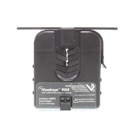 hawkeye current sensor 904 veris industries h904 hawkeye self calibrating current