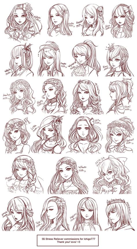 anime hairstyles female tutorial 25 best ideas about anime hair on pinterest manga hair