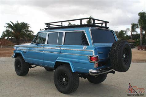 jeep grand wagoneer custom jeep wagoneer custom 4x4