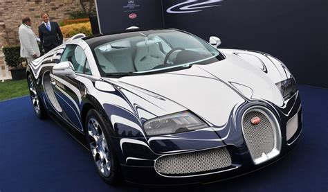 gold and white bugatti bugatti veyron in white gold