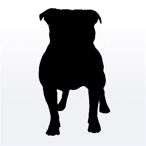 pug silhouette clip pug outline clipart best