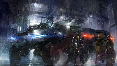 wallpaper engine cyberpunk anime cyberpunk combat vehicle mech anime manga