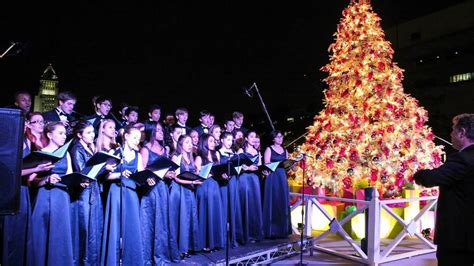 tree lighting song l a county tree lighting ceremony