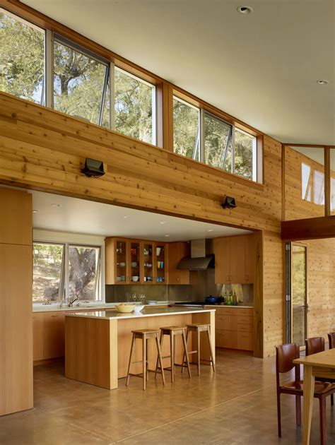 sustainable renovation of a 1970s california kit log home
