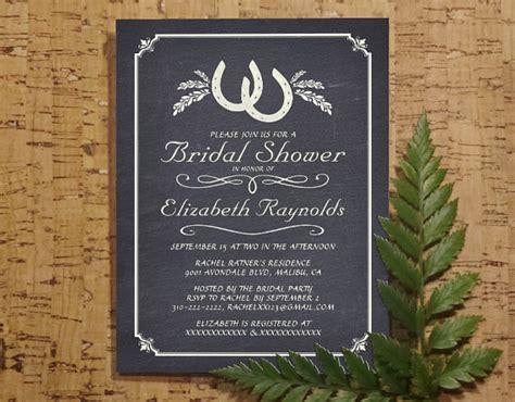 bridal shower free pdf country horseshoe bridal invitations bridal shower