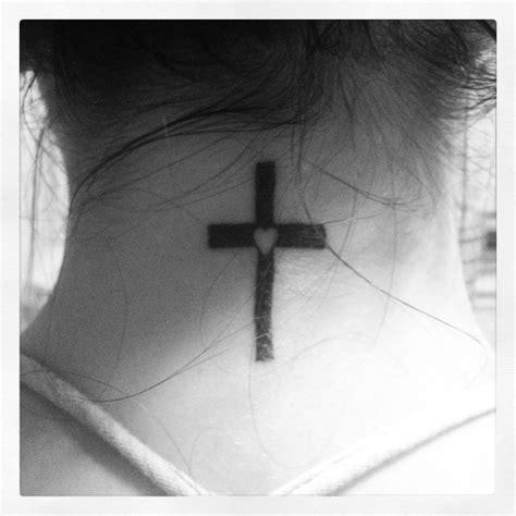 cross my heart tattoo 25 best cross tattoos ideas on
