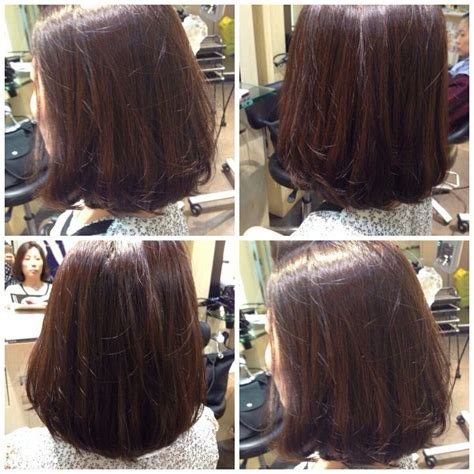 rebonding hair short cut smooth volume rebonding hair volume rebonding