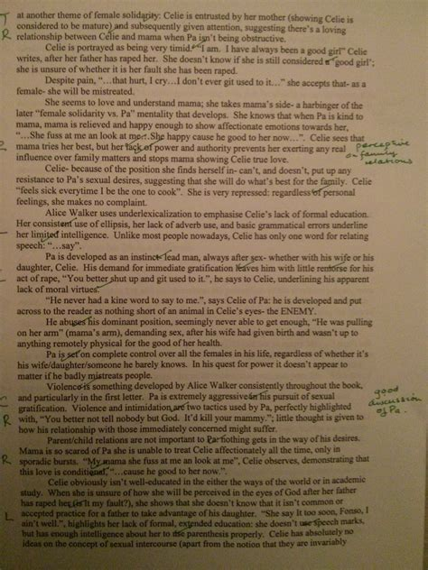 Critical Analysis Essay On The Color Purple by Everyday Use Walker Essay Essay Justification Legitimacy Obligation Right Resume Exles