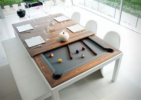pool table dinner table combo