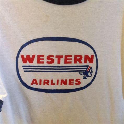 T Shirt Western Airlines 166 best vintage tees images on vintage tees