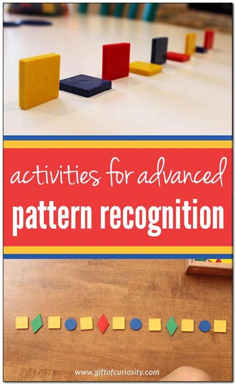 pattern recognition kindergarten best 25 pattern recognition ideas on pinterest