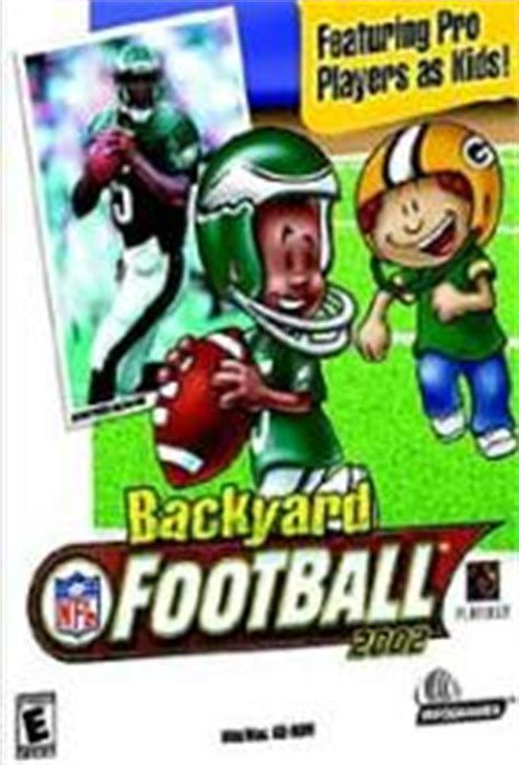 backyard football 2001 backyard football 2002 videos movies trailers macintosh ign
