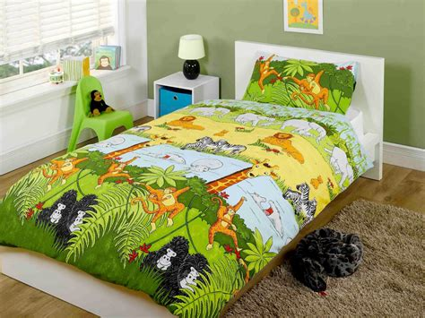 fun bed sheets kids cheeky monkey