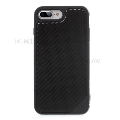 Hybrid Carbon Fiber Hardcase For Iphone X x doria defense for iphone 7 plus leather coated hybrid cover carbon fiber texture
