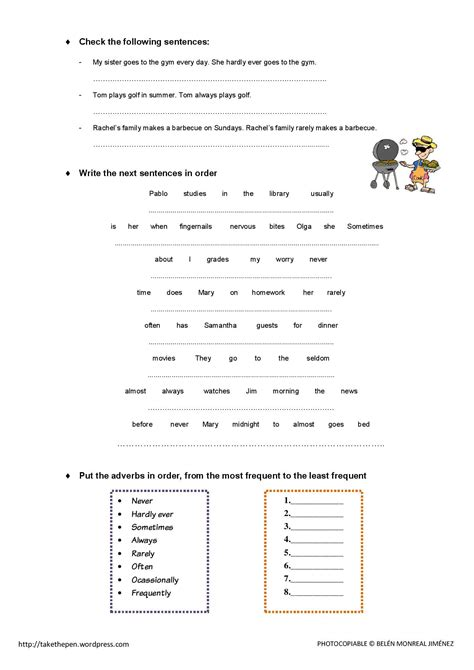 worksheets on adverbs of frequency adverbs of frequency worksheets driverlayer search engine