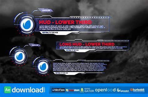 Hud Lower Thirds Videohive Project Free Download Free After Effects Template Videohive Iron Hud After Effects Template