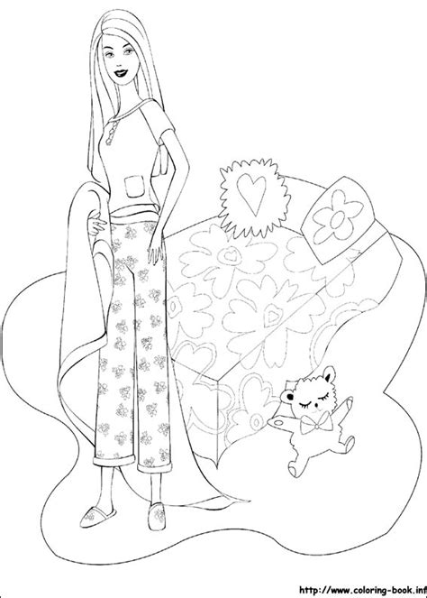 pages book info coloring picture