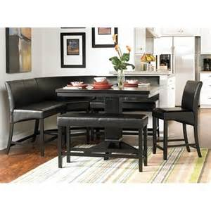 Dining table corner dining table set