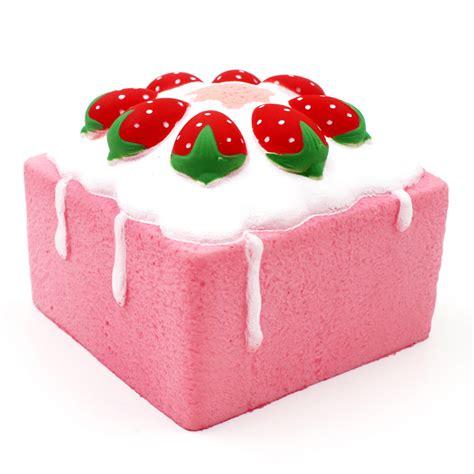 Square Jumbo jumbo rising square cake cube squishy charm scented