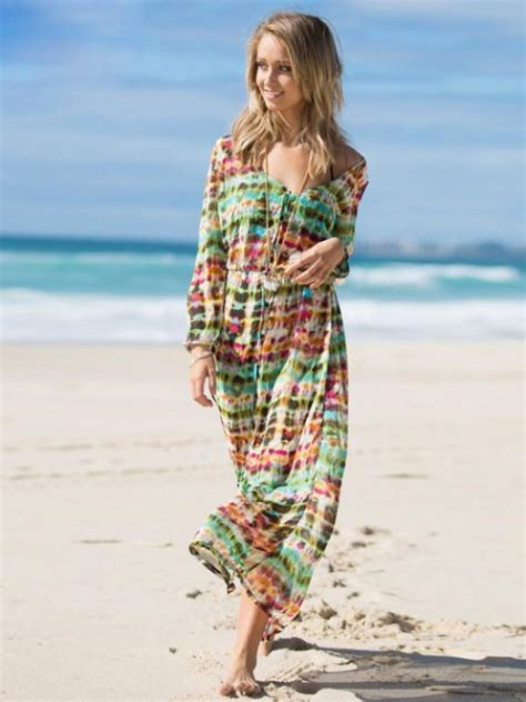 Longdress Zaskia Kaftan Zaskia gak usah minder 3 baju ini cocok dipakai ke pantai selain