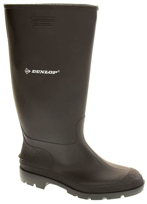 Garden Boots Mens by Mens Dunlop Waterproof Wellington Boots Garden Boot Wellies Sz 6 7 8 9 10 11 12 Ebay