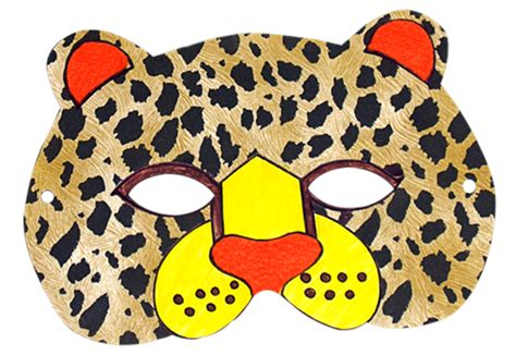 cheetah mask template felt animal mask printable templates illistyle best review