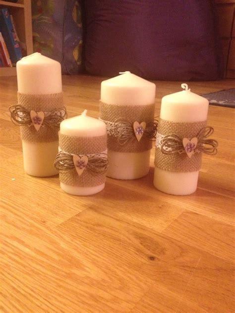 candele decorate a mano oltre 25 idee originali per candele decorate su