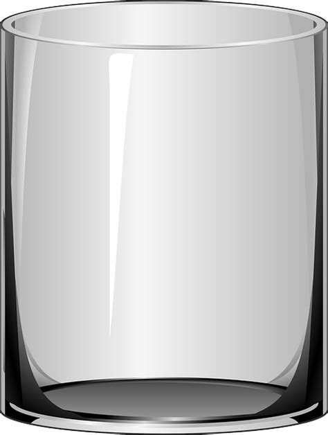 vector graphic drinking glass tumbler drinking