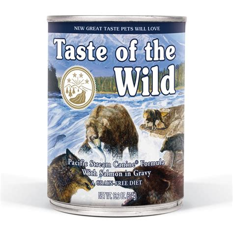 taste of the salmon puppy ren s pets depot taste of the can pacfc w smoked slmn in grvy 13 2oz