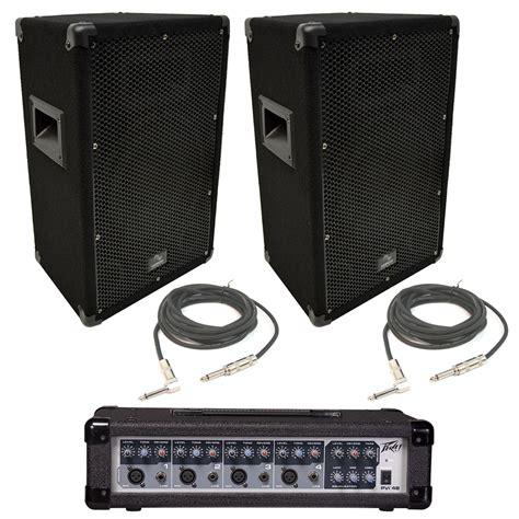peavey pvi 10 10 pa speaker cabinet pair 2 harmony audio ha v10p 10 quot 300w pa speaker peavey pvi