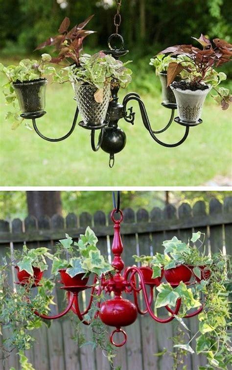 Creative Chandelier Ideas 25 Best Ideas About Chandelier Planter On Pinterest Diy Yard Decor Tire Garden And Diy