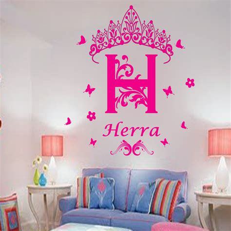 personalized wall stickers personalized vinyl wall stickers recognition