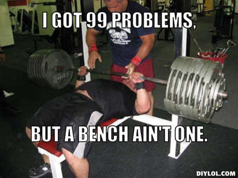 Bench Meme - do you need more than the big 3 revolution xtreme fitness