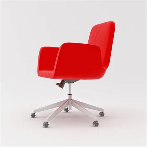 Ikea Architectural Visualization 3d Model Patrik Swivel Chair
