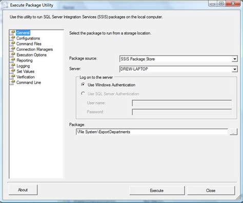 tutorial select sql server ssis 2008 packages tutorial