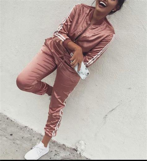 Jumpsuit: silk, satin, pink, adidas tracksuit, adidas