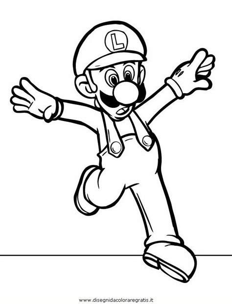 Mario Bros 29 disegno mario bros 29 personaggio cartone animato da colorare