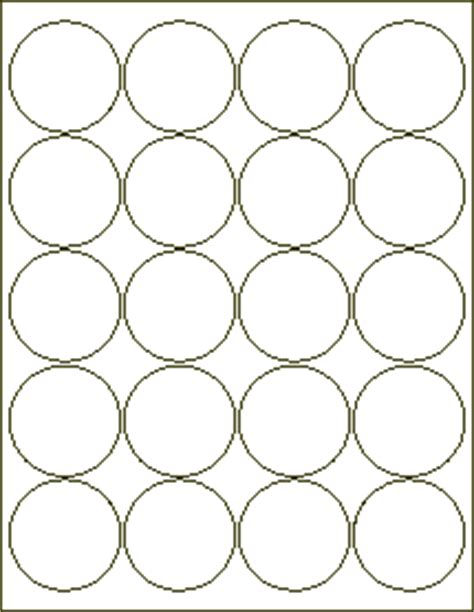 2 inch circle label template best photos of 2 inch