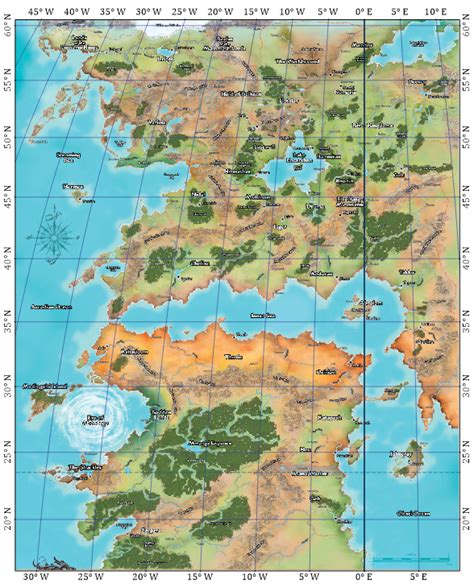 pathfinder golarion map dungeonetics golarion geographical maps