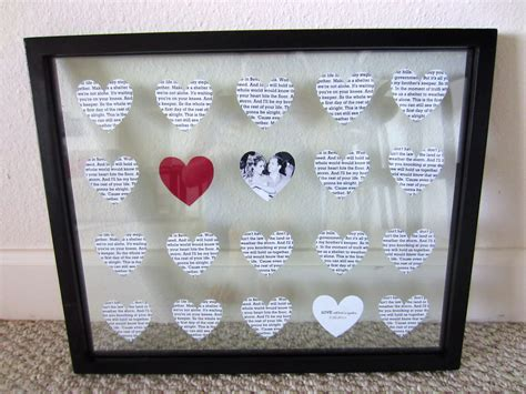diy 1 year anniversary gift paper in - 25th Wedding Anniversary Gift Ideas Diy 2