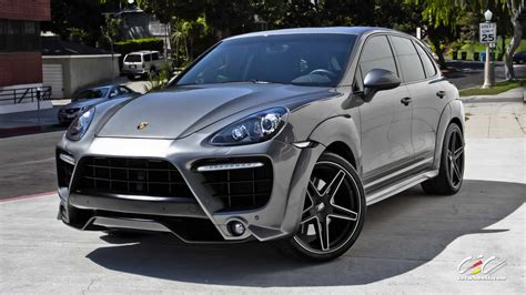 porsche cayenne matte grey caractere porsche cayenne turbo cars for sale