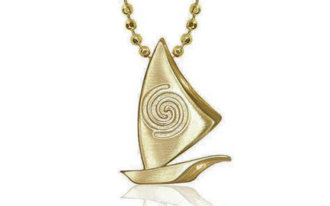 moana boat necklace voyaging canoe necklace pays homage to moana