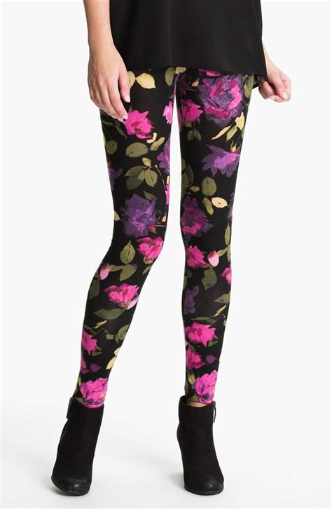 rose pattern lace leggings leggings rose pattern fleece lined leggings wheretoget