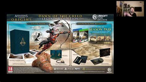 assassins creed origins collectors assassin s creed origins collector s edition rant strong language collector verse