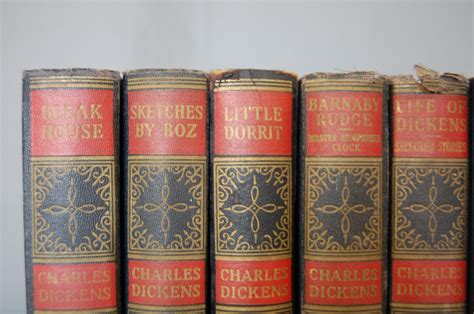 major works of charles circa 1936 set of major works of charles dickens 8 the savoy flea