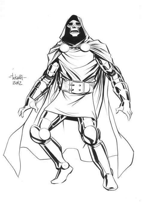 doctor doom coloring page comics coloring pages coloring home