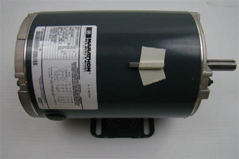 marathon electric motor 230 460v 1 hp hve56t17d2092k ebay