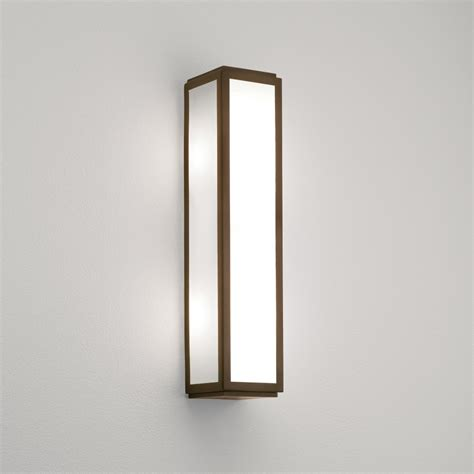Mashiko Bathroom Light Astro 0877 Mashiko Classic 360 Bathroom Wall Light Bronze