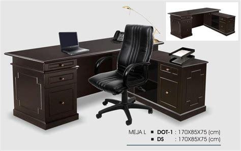 Meja Kantor 1 Biro meja kantor donati meja 1 biro dot 1 distributor